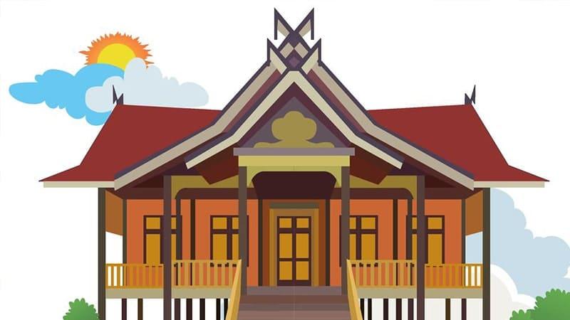 Cerita Rakyat Jambi Si Kelingking - Rumah Adat Jambi