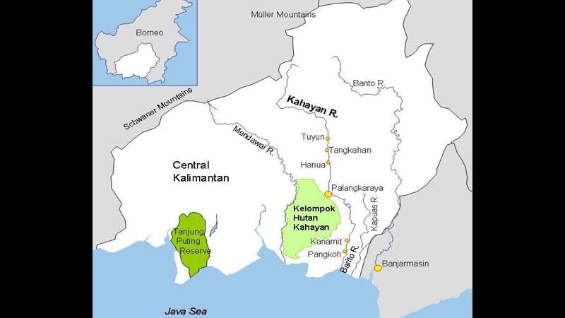 Legenda Pulau Nusa Kalimantan Tengah - Aliran Sungai Kahayan