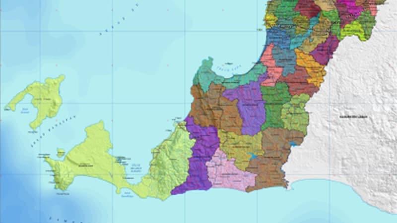 Legenda Asal-Usul Kota Pandeglang - Peta Banten