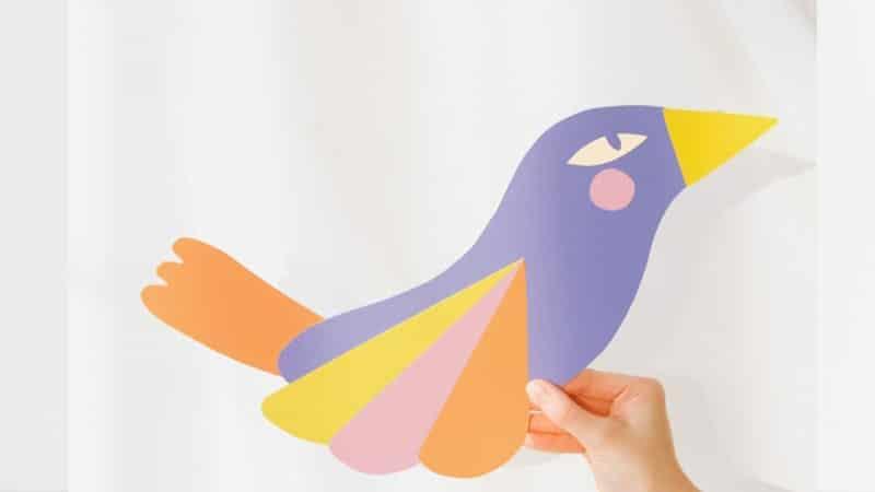 Cerita Fabel Buaya dan Burung Penyanyi - Burung dari Kertas