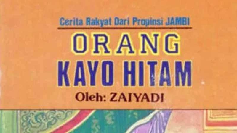 Cerita Rakyat Rangkayo Hitam - Sampul Buku