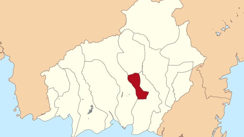 Cerita Hantuen Kalimantan Tengah - Peta Kalteng