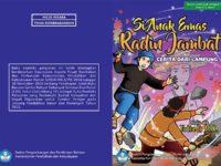 Cerita Rakyat Lampung Radin Jambat - Sampul Buku
