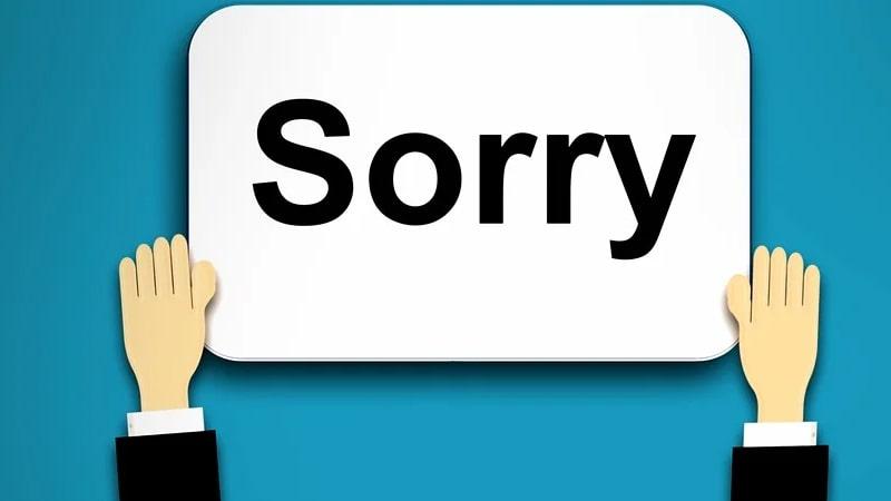 Kata Maaf yang Baik - Maaf