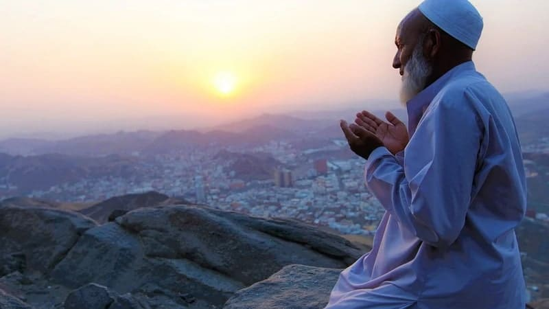 Kata-Kata Sholat 5 Waktu - Berdoa