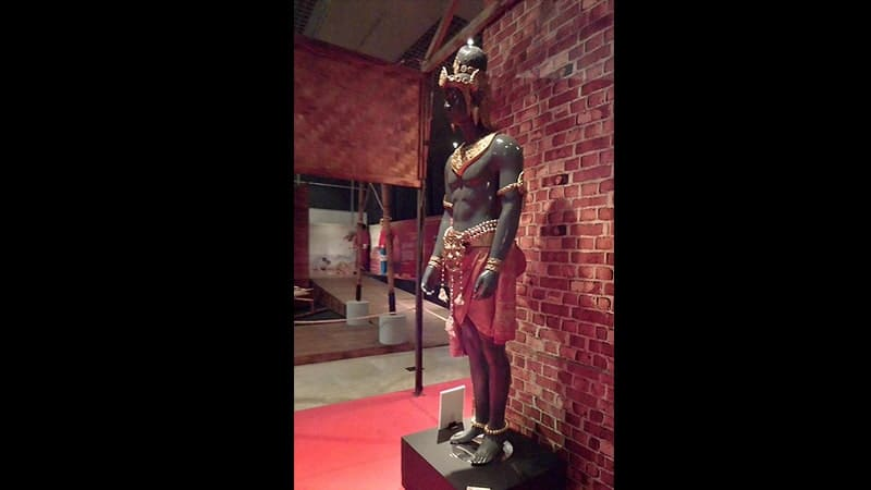 Pendiri Kerajaan Sriwijaya - Patung Dapunta Hyang