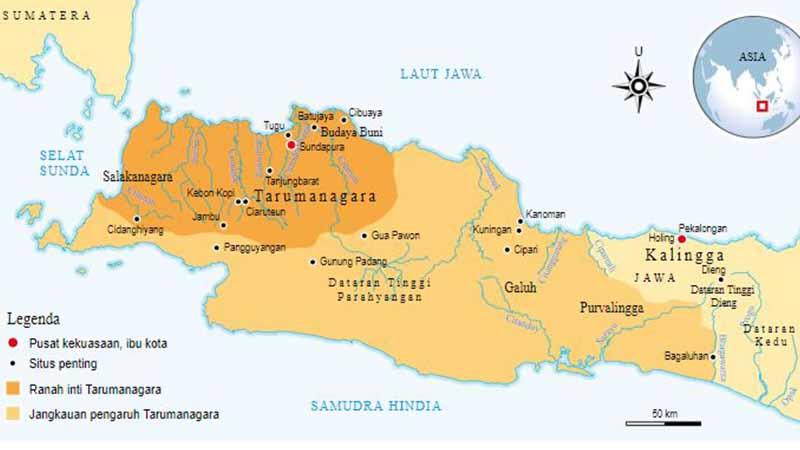 Peta Wilayah Jawa Barat