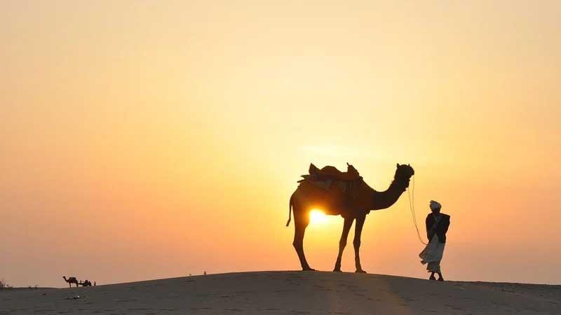 Cerita Abu Nawas Mencari Tuhan - Gurun Pasir