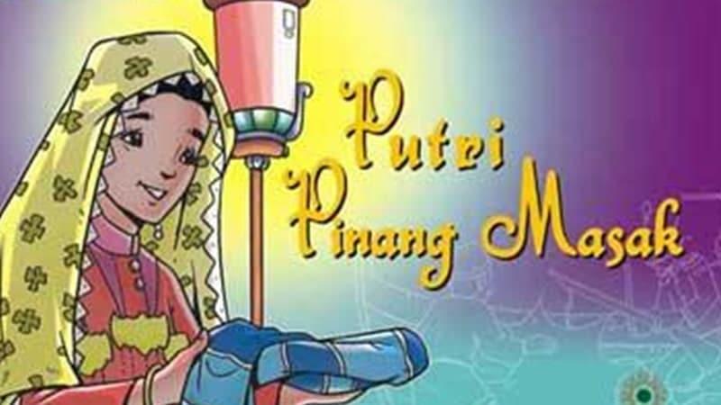 Cerita Rakyat Jambi Putri Pinang Masak - Cover Buku Cerita