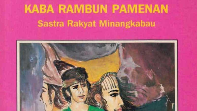 Cerita Minang Rambun Pamenan - Sampul Buku