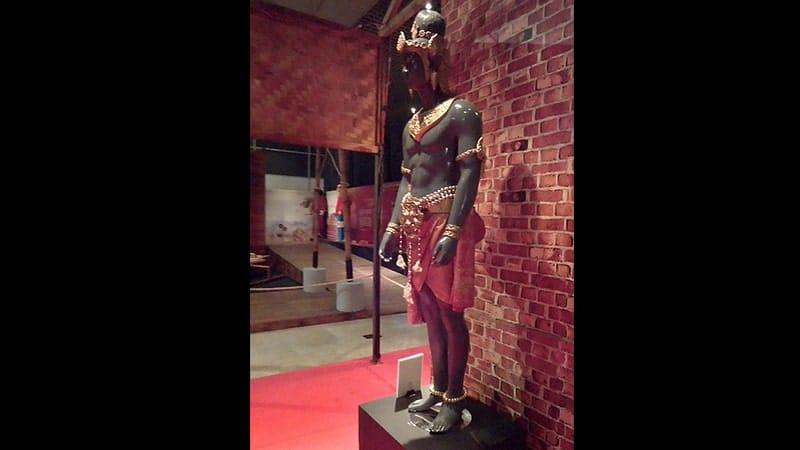 Sejarah Kerajaan Sriwijaya - Patung Perwujudan Dapunta Hyang