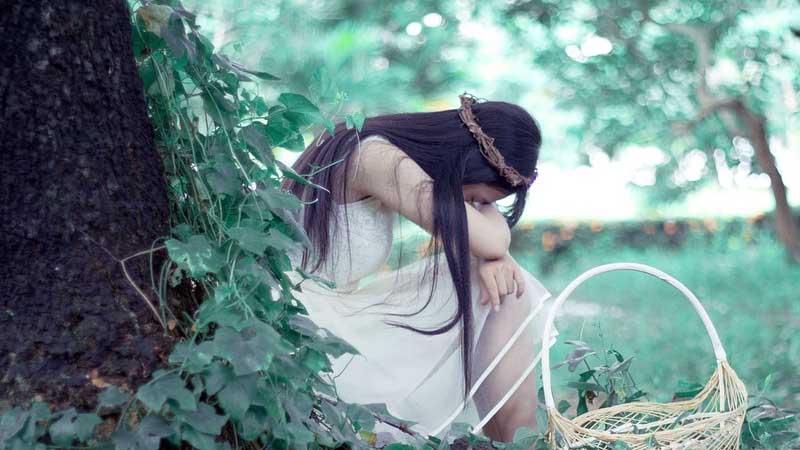 Cerita Rakyat Putri Mambang Linau - Gadis Cantik