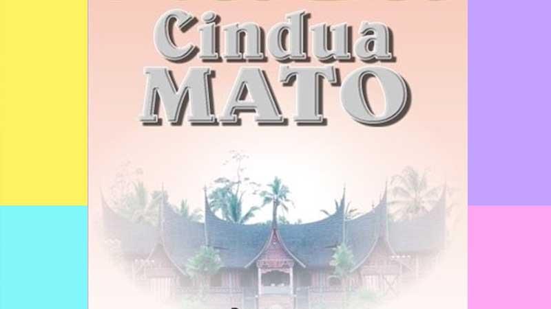 Cerita Minang Cindua Mato - Sampul Buku