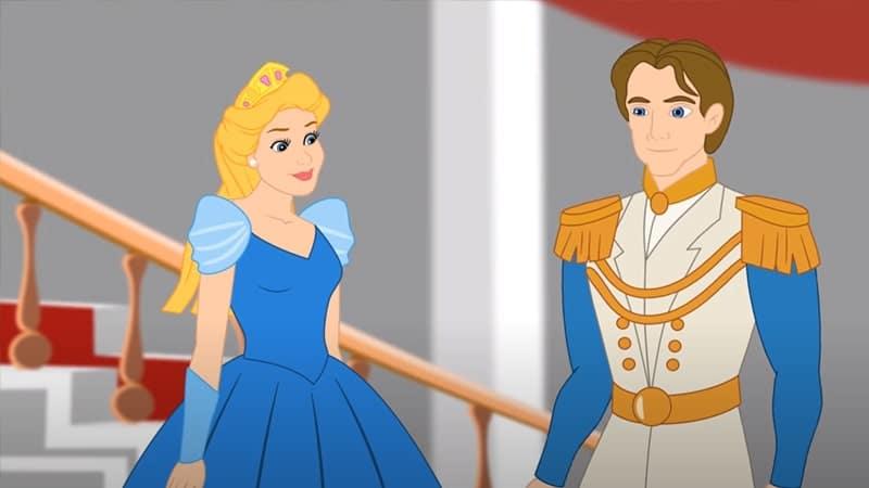 Dongeng Putri dan Kacang Polong - Putri dan Pangeran