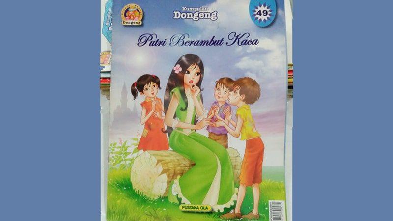 Dongeng Putri Berambut Kaca - Sampul Buku