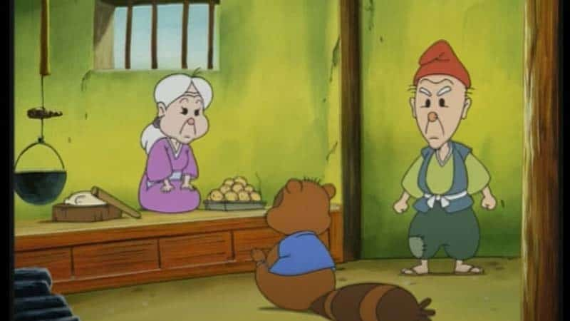 Legenda Kachi-Kachi Yama - Kakek dan Nenek