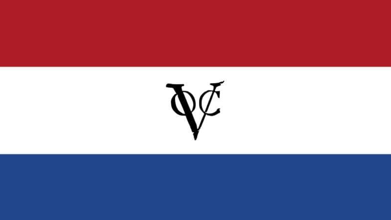 Sejarah Masa Penjajahan Belanda di Indonesia - Bendera VOC