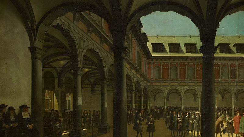 Sejarah Singkat VOC - Markas di Amsterdam