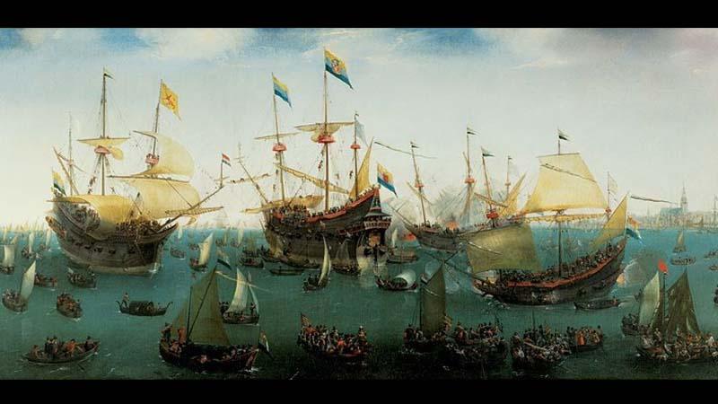 Kedatangan Kapal VOC