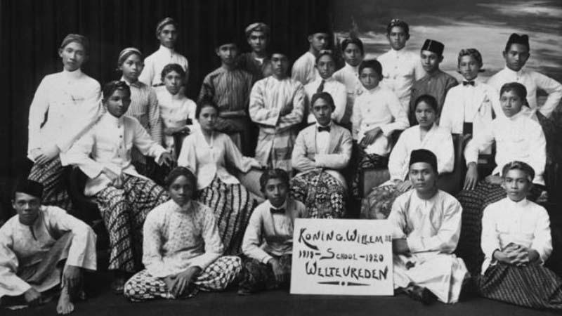 Pelajar dari Kaum Pribumi