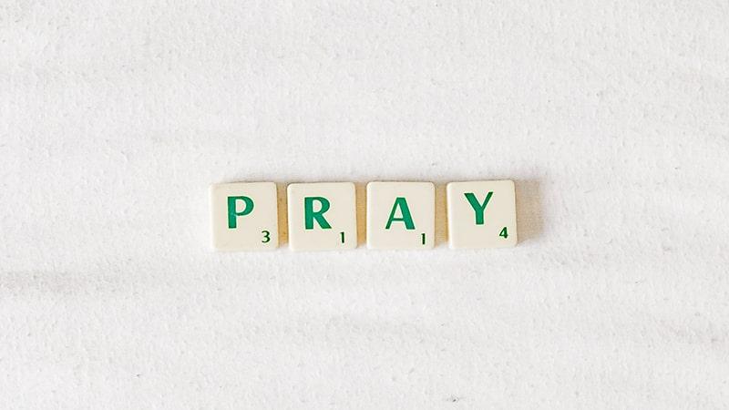 Kata-Kata Kekuatan Doa - Pray