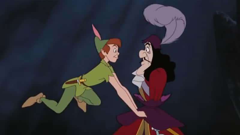 Peter Pan dan Kapten Hook - Bertarung - Bertarung