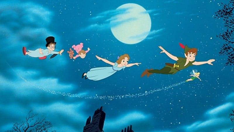 Peter Pan dan Kapten Hook - Terbang