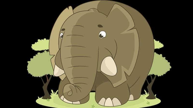 Cerita Dongeng Gajah dan Monyet - Gajah