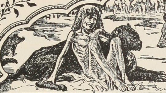 Cerita The Jungle Book - Mowgli Bercengkrama dengan Bagheera
