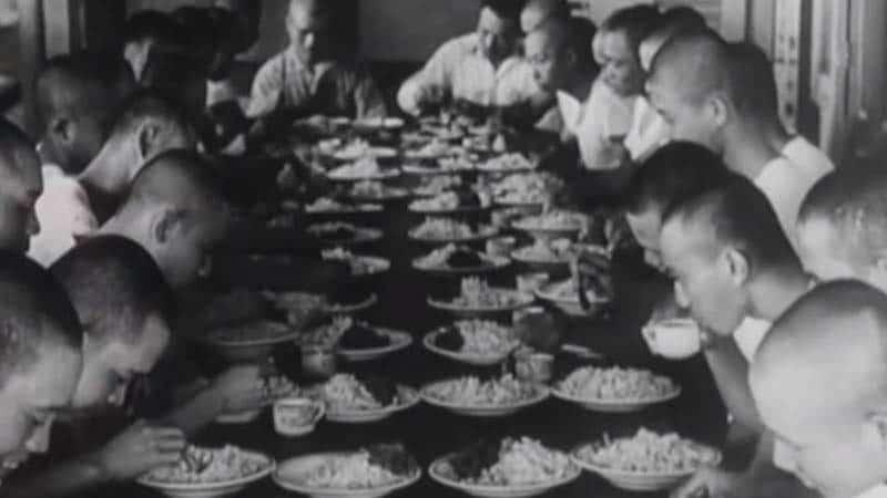 Organisasi Heiho - Prajurit Sedang Makan
