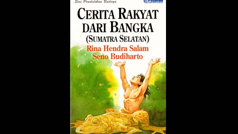 Cerita Rakyat Bangka Belitung Bujang Katak - Sampul Buku