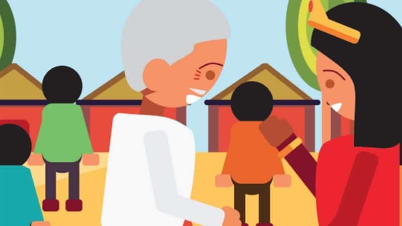 Asal Mula Tanjung Penyusuk - Kakek dan Ratu