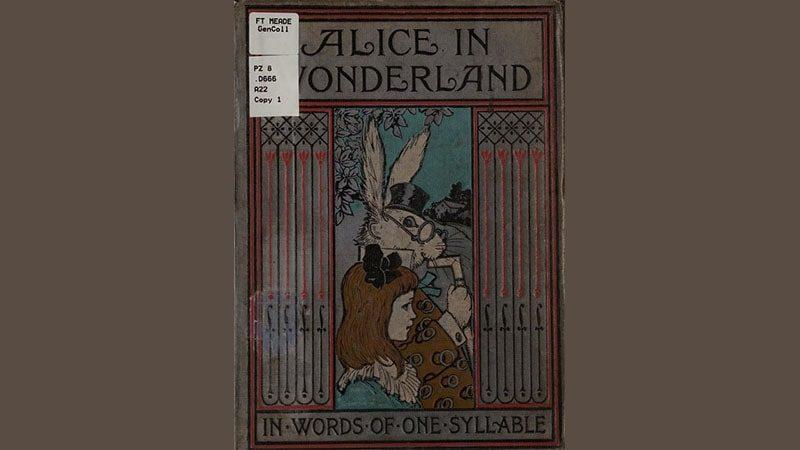 Cerita Alice in Wonderland - Sampul Buku