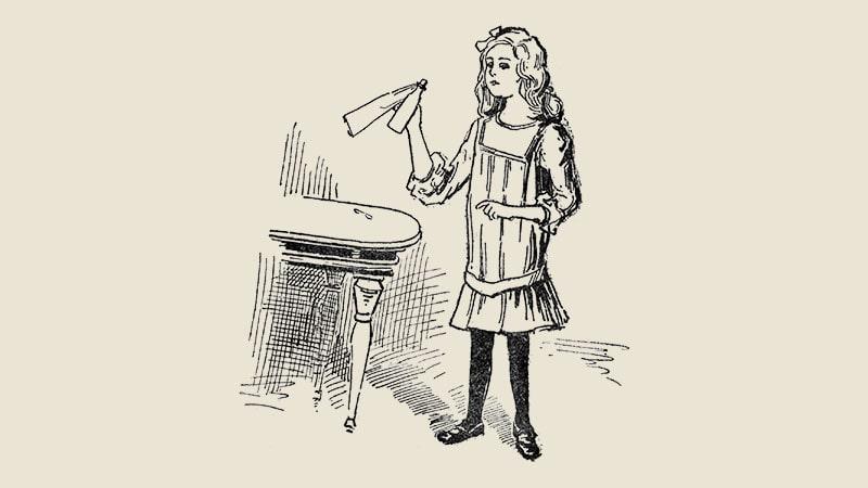 Cerita Alice in Wonderland - Minumlah Aku