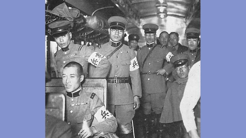 Propaganda Jepang di Indonesia - Polisi Jepang