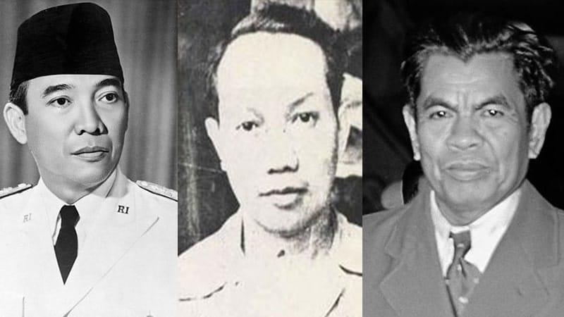 Sejarah Lahirnya Pancasila - Soekarno, Soepomo, Mohammad Yamin