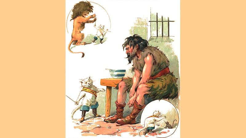 Berubah Menjadi Singa dan Tikus
