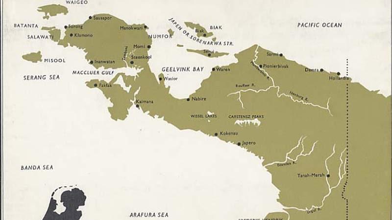 Peta Irian